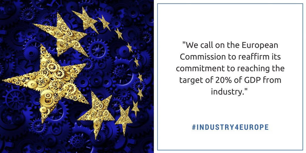 Joint Declaration for an EU industrial strategy