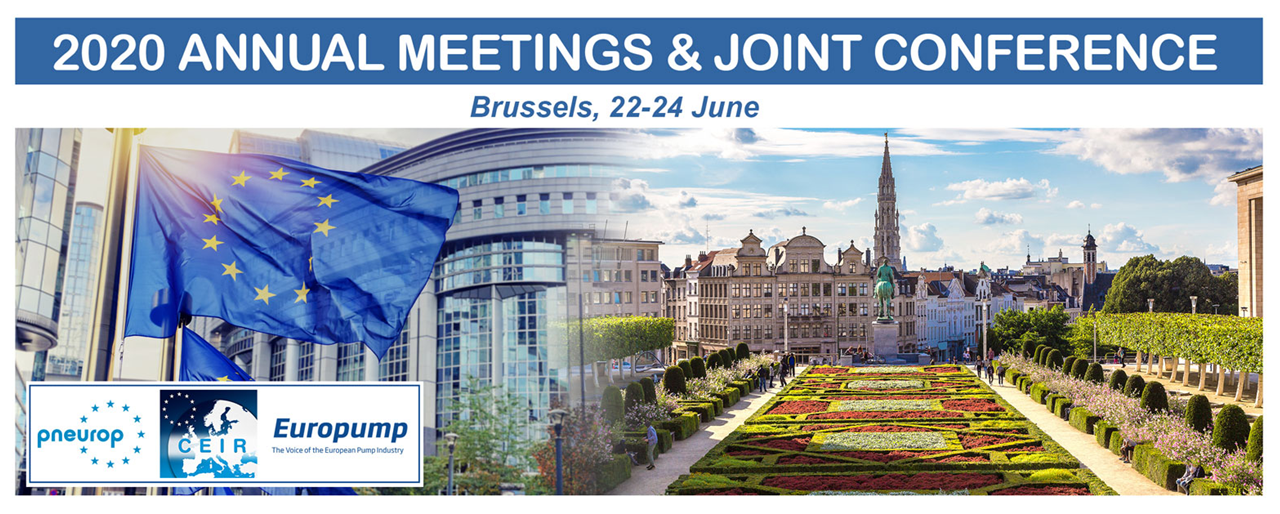 Europump Annual Meeting 2020   -   Early Bird till 16 MARCH !